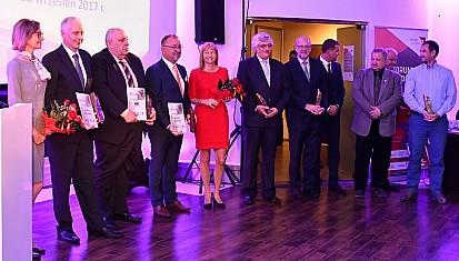 V Międzynarodowa Gala Filar Ziemi Raciborskiej - statuetki rozdane