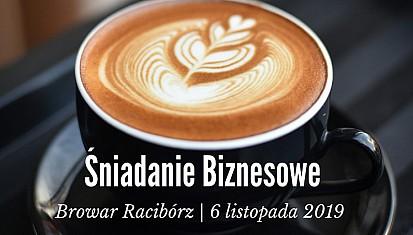 Śniadanie biznesowe Subregionu Zachodniego w Raciborzu 6 listopada