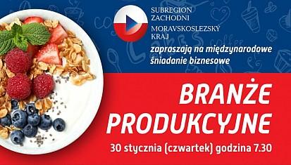Zaproszenie na międzynarodowe śniadanie dla firm produkcyjnych
