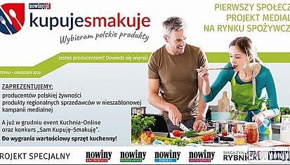 """""""Kupuję-Smakuję. Wybieram polskie produkty"""". Kolejny projekt Nowin!"""